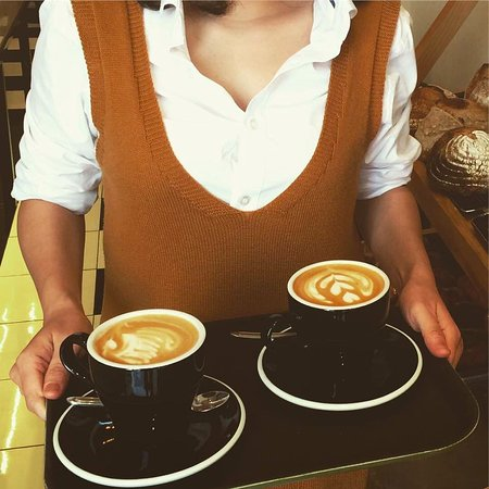 Our coffee, Cappuccino !