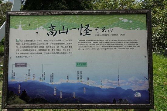 Cingjing Veterans Farm: Signage of the Farm