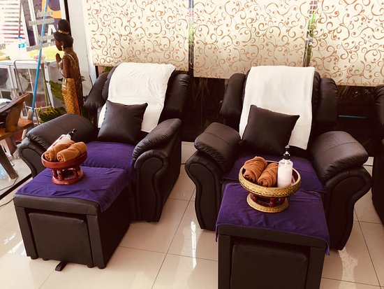Jomtien Beach, Thailand: Nai massages SOI 5