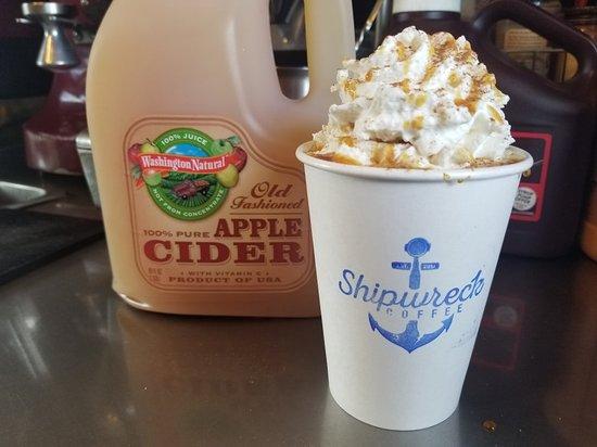 Camano Island, WA: Shipwreck Coffee