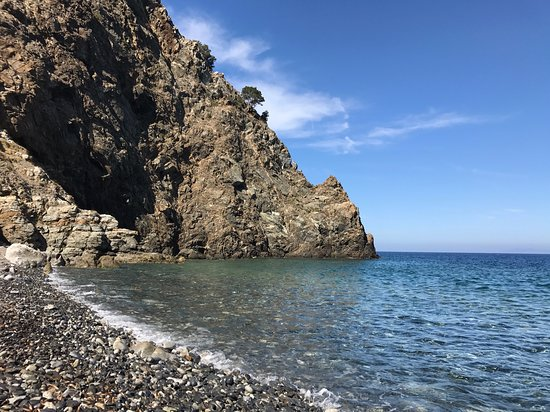 Patresi, Italija: Spiaggia della Polveraia