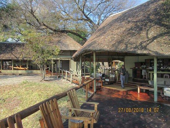 Kwando Concession NG14, Botswana: bar area
