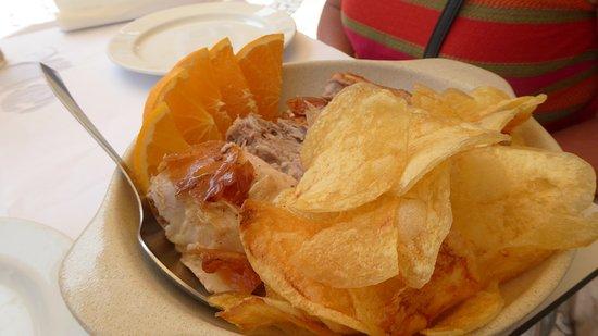 Tasquinha Do Leitao: crisps, not chips