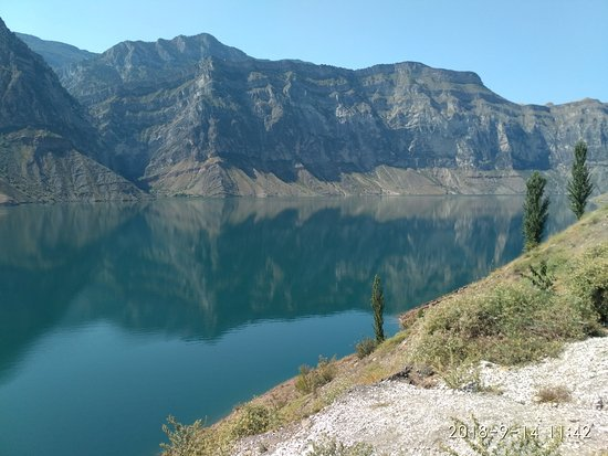 Republic of Dagestan, Rusija: красота Ирганайского водохранилища
