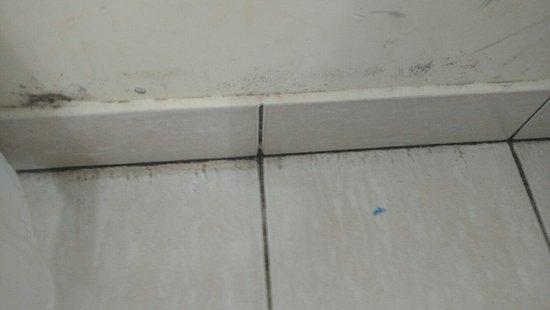 Crespo, Argentina: Moho negro en la habitación.