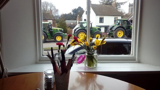 Abbots Bromley, UK: On the green cafe and deli
