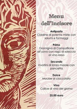 Pegognaga, อิตาลี: Giovedì 11 Ottobre 2018 dalle ore 20.30 Cena con l'Artista Incisore Cosimo Felline
