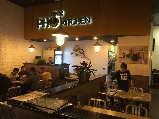 pho kitchen inside - Pho Kitchen