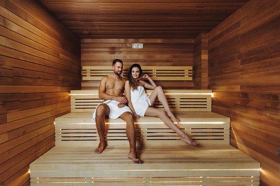 Turzno, Polen: Sauna