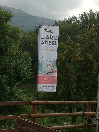 Frassinetto, Italia: Cartello Arcansel