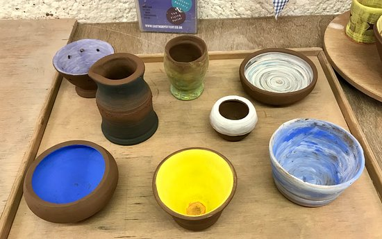 Eastnor Pottery & The Flying Potter: Pots made at Eastnor Pottery
