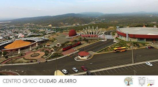 Montecristi, Ecuador: Centro Cívico Ciudad Alfaro