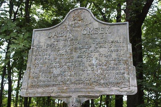 Cabin Creek Battlefield