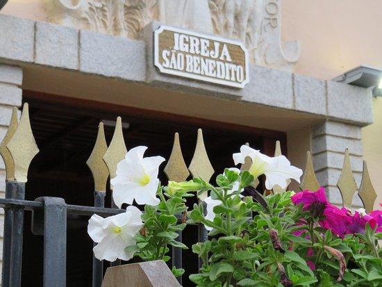 Igreja de São Benedito: Entrada principal