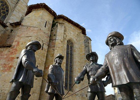 D'Artagnan et ses Mousquetaires