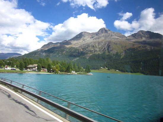 Silvaplana, Schweiz: Beautiful lake