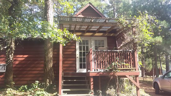 Tall Pines Inn: North side of Cabin 21