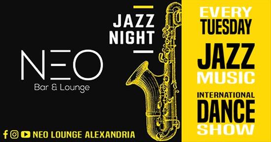 NEO Lounge Alexandria: NEO JAZZ NIGHT - Every Tuesday