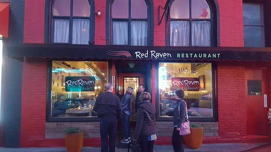 Red Raven Restaurant: Exterior showing the entrance...