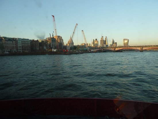 London Docks Picture Of Thames Dinner Cruise London Tripadvisor
