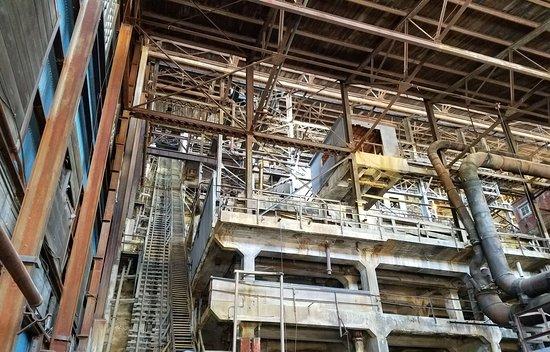 Britannia Beach, Canada: Mining Mill building