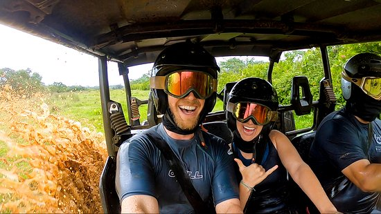 We wanted to get muddy and our guide Josh delivered! Absolutely loved Princeville Ranch's ATV To