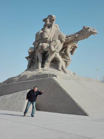 "Balkanabat, Turkmenistan: posa ""plastica"""