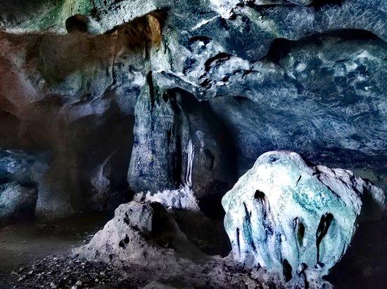 Agusan del Norte Province, Filippijnen: rock formations in Cave #2