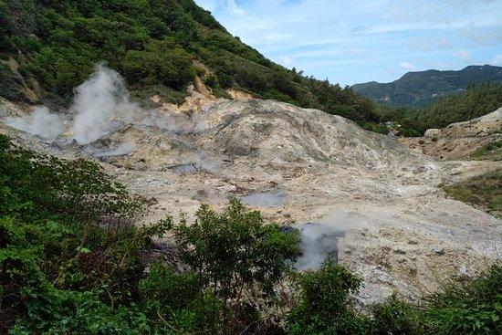La Soufriere Drive-In Volcano