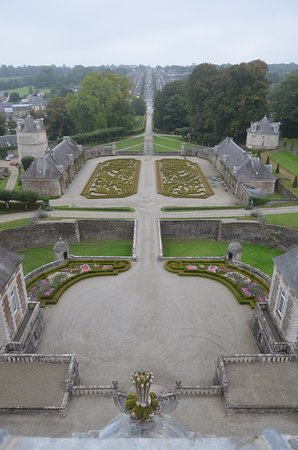 Grounds of the Chateau de Balleroy from the belfry