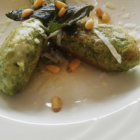 Stockton Springs, ME: Nettle Gnudi with Crispy Sage & Brown Butter
