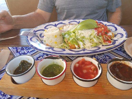 OH Mexico: Chicken Flautas