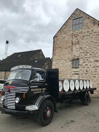 Alness, UK: The old truck
