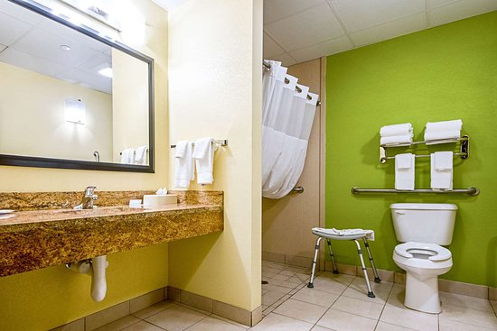 Glenmont, Estado de Nueva York: Accessible bathroom