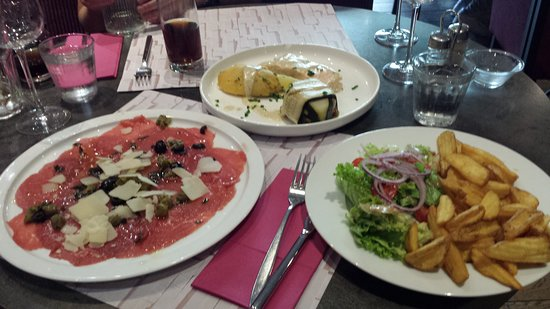 L'Apostrophe: Some of the food