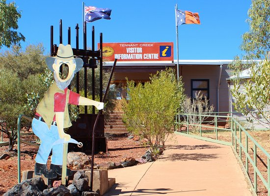 Tennant Creek, Australia: Front Entrance