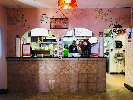 Thomasville, Carolina do Norte: Elizabeth's pizza