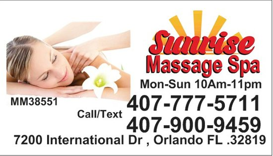 Sunrise Massage Spa