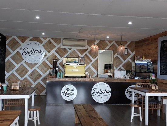 O'Halloran Hill, Australia: Delicia Acai & Protein Bar