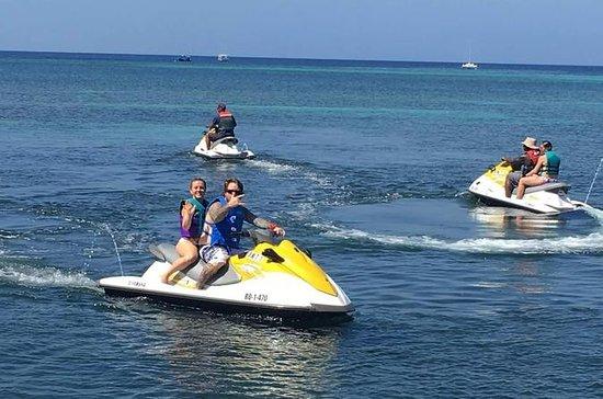Roatan Jet Ski Adventure och West Bay ...