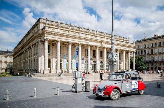 Privat Bordeaux Tour i en Citroën 2CV