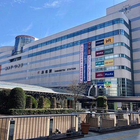 浜松駅の建物の中