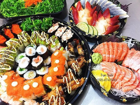 Sushi Station Hanoi Restaurant Reviews Photos Phone Number Tripadvisor 5pcs sashimi,2pcs nigiri sushi, in stead of cali roll 4pcs of shrimp tempura roll included. sushi station hanoi restaurant