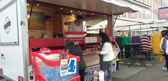 Albert Cuyp Market: 荷蘭代表小食-焦糖餅