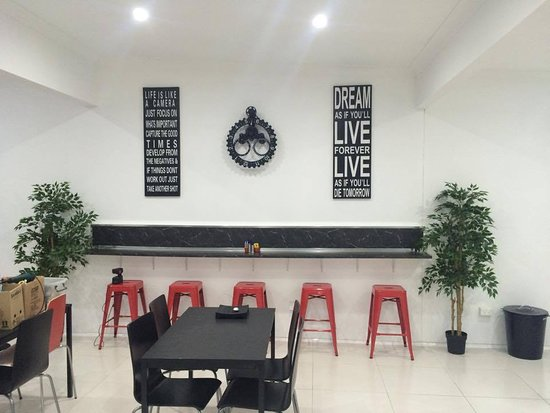 Budgewoi, Austrália: Kaza's Cafe