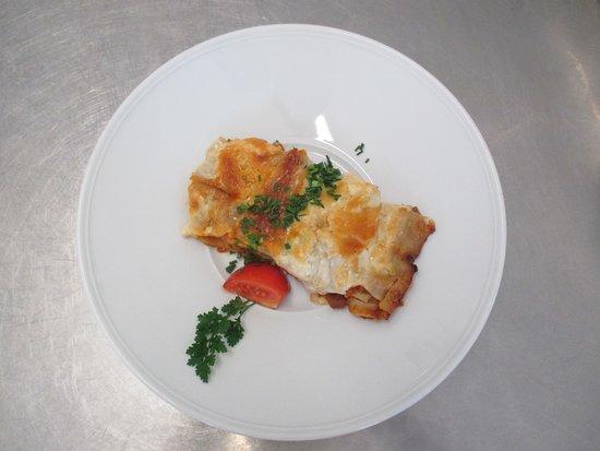 Vilshofen, Tyskland: Jeden Tag ein anderes vegetarisches Gericht im Angebot