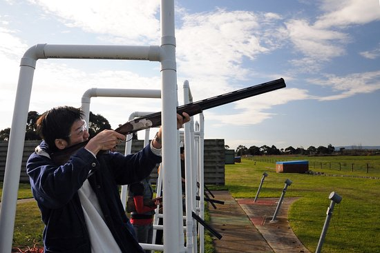Epping, Australien: clay shooting