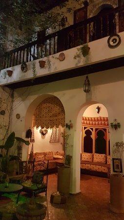 Ryad Bahia : parte della sala ristorante