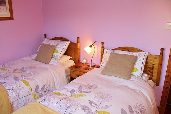 Drummore, UK: Twin Ensuite Bedroom
