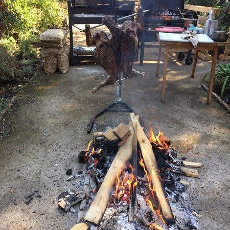 Chicureo, Chile: El Fogon del Lenador
